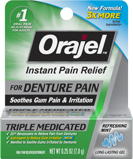 Denture Pain Relief Gel