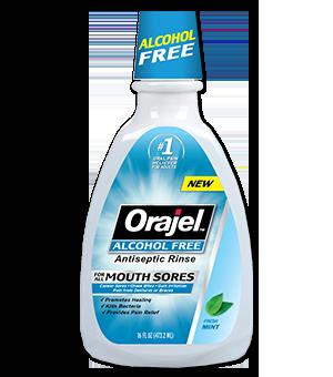 Antiseptic Mouth Sore Rinse Orajel
