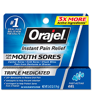 Mouth Sores Gel Orajel