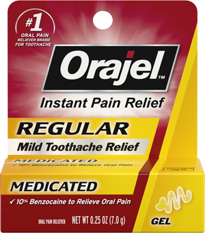 Toothache Relief Medicated Formula Orajel