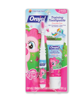 My Little Pony Toothpaste Package