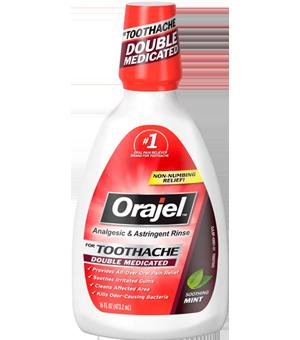 Toothache Rinse Orajel