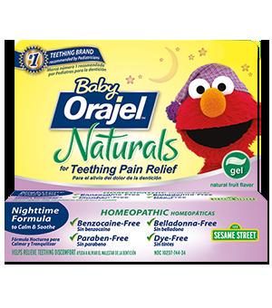 Simply Amy Baby Orajel Naturals Nighttime Teething Gel