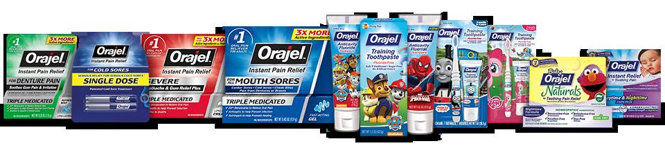 Orajel Products